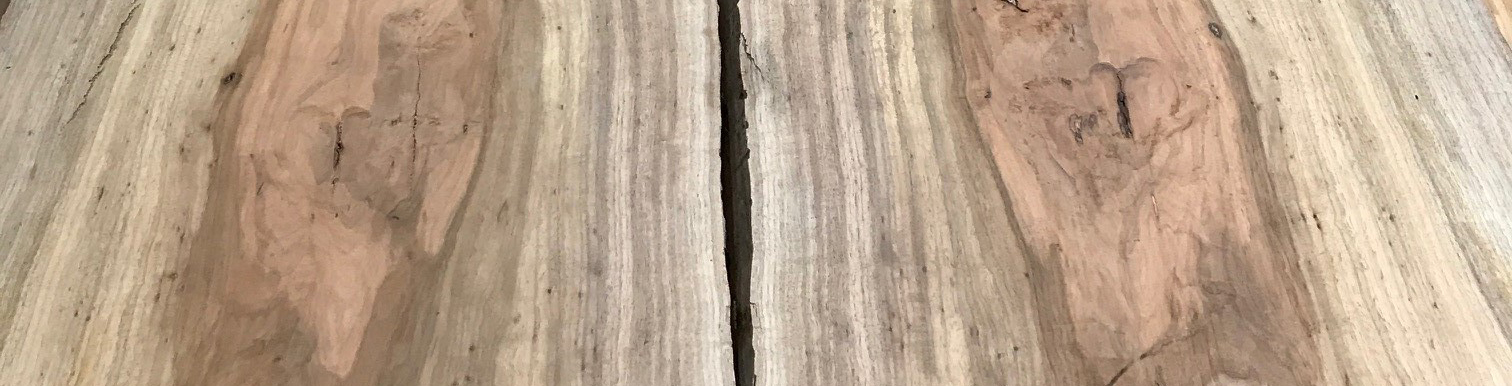 Bookmatched Live Edge Table
